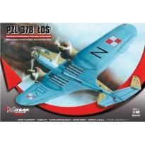 Samolot bombowy PZL 37B Łoś (1:48)