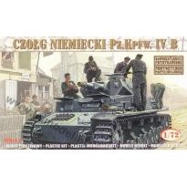 Czołg niemiecki Pz.Kpfw. IV B (1:72)