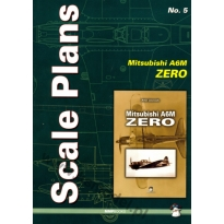 Scale Plans No. 5 Mitsubishi A6M Zero (1:72, 1:48 i 1:32)
