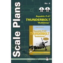 Scale Plans No. 8 Republic P-47 D/N Thunderbolt