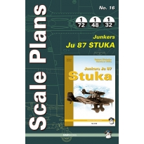 Scale Plans No.16 Junkers Ju 87 Stuka (1:72,1:48,1:32)