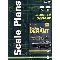 Scale Plans No.19 Boulton Paul Defiant (1:72,1:48)