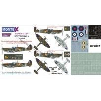 Super Mask Supermarine Spitfire Mk.IIb (1:72)
