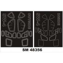Mini Mask SW-4 (1:48)