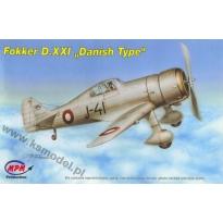"Fokker D.XXI ""Danish Type"" (1:72)"
