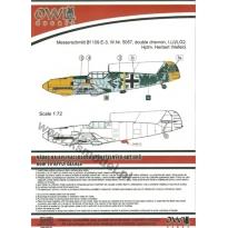 Bf 109 E-3 W.Nr.5057 double schewron I(J)LG2 (1:32)