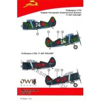 Polikarpov I-153, 71 IAP VVS-KBF (1:48)