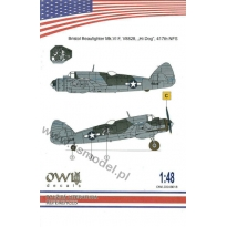 "Bristol Beaufigter Mk,VI F, V8828 ""Hi Dog"" 417th NFS (1:48)"
