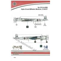 He 219 A-0/R6 G9+FK (W. Modrow) (1:48)