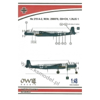 He 219 A-2, W.Nr. 290070, G9+CH, 1./NJG 1 (1:48)