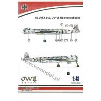He 219 V133 DV+DI (catapult test machine) (1:48)