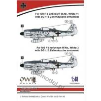 Fw 190 A-8 SG 116 (1:48)