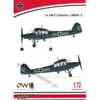 Fi 156 C-3 Storch, 1./NSGr.2 (1:72)