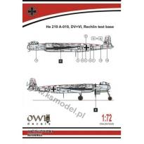 He 219 V133 DV+DI (catapult test machine) (1:72)