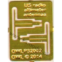 US radio-altimeter antenas (1:32)