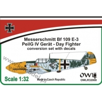 Bf 109 E-3 with PeilG IV Day fighter: Konwersja (1:32)