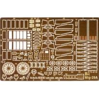 MiG-29 A elementy zewnętrzne (1:72)