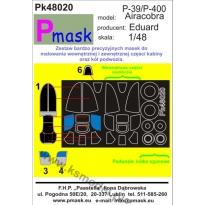 P-39/P-400 Airacobra: Maska (1:48)