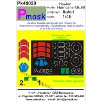 Hurricane Mk.I/II: Maska (1:48)