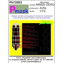 Mitsubishi A6M2b Zero: Maska (1:72)