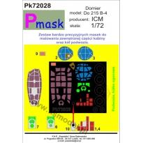 Dornier Do 215 B-4: Maska (1:72)