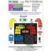 PZL P-37A/B Łoś: Maska (1:72)