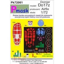 Dornier Do17z: Maska (1:72)