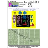 Dornier Do215 B-5: Maska (1:72)