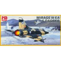 Mirage IIIEA & Dagger (1:72)