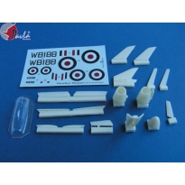 Hawker Hunter: First prototype (1:72)