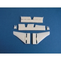 Sea Harrier FRS.1: Control surfaces (1:72)