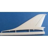 Su-15TM: Correct vertical tail (1:72)