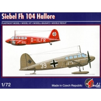 Siebel Fh 104 Hallore (1:72)