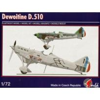 Dewoitine D.510 (1:72)
