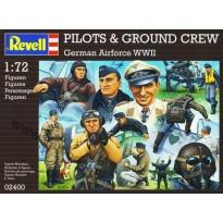 Pilots & Ground Crew German Airforce WWII (1:72)