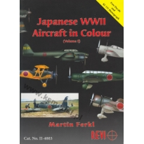 Japanese WWII Aircrafi in Colour vol.I