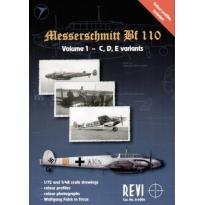 Messerschmitt Bf 110, Volume 1 - C,D,E Variants