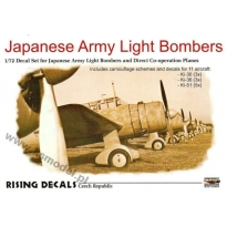 Japanese Army Light Bombers (1:72)