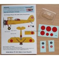 Ki-9 -Instument flight training blinder canopy: Konwersja (1:72)