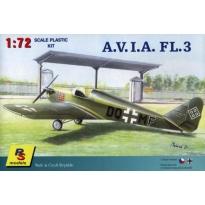 A.V.I.A. Fl 3 - otwarta kabina (1:72)