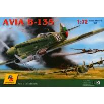 Avia B-135 Bulgaria WW II (1:72)