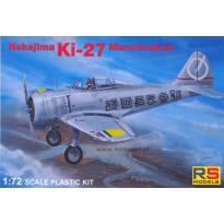 Nakajima Ki-27 b Manchukuo (1:72)