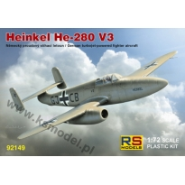 Heinkel He-280 V3 with HeS (1:72)