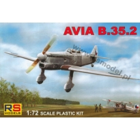 Avia B.35.2 Czechoslovakia, Luftwaffe (1:72)