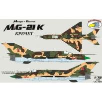 Mikoyan-Gurevich MiG-21K (1:72)