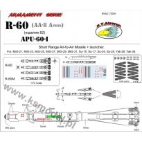 R-60 + APU-60-I (1:72)