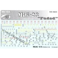 MIG-23 Stencils (1:48)