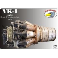 VK-1 engine for MiG-15 (1:72)