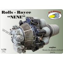 """Rolls-Royce """"Nene"""" engine (1:72)"""