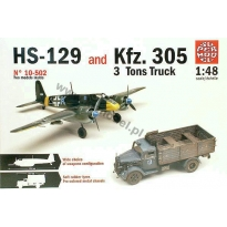 Hs-129 and Kfz.305 3 tons Truck (1:48)